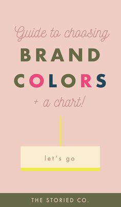 How to choose colors when you brand your business. Hoe u kleuren kiest wanneer u uw bedrijf brandmerkt.