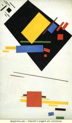 Kazimir Malevich. Suprematism.