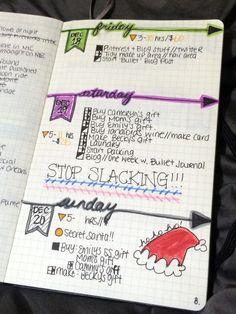 Bullet Journal Week One