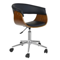 Porthos Home Liam Desk Chair Upholstery: Red Cool Office Desk, Best Office Chair, Office Chairs, Desk Chairs, Dining Chairs, Lounge Chairs, Retro Office, Conference Room Chairs, Ergonomic Office Chair