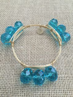 Large Wrist . Approx 8 inches around. As with the nature of all stones, color, size or shape may vary. Bourbon and and Boweties are made with Gold Plated Brass.