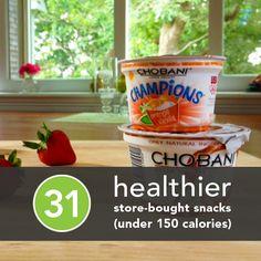 Calorie-conscious snacks.