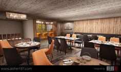 Designs by Atelier187 #design #architecture #Jeddah #SaudiArabia #Atelier #Atelier187 #contemporary #modern #restaurant