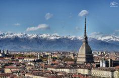 """Quando il vento """"spettina"""" Torino..."""