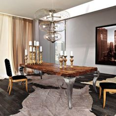 Dining table / traditional / home C681  BIZZOTTO ITALIAN SENSATIONS
