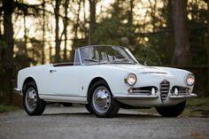 Alfa Romeo Giulia Spider 1963.