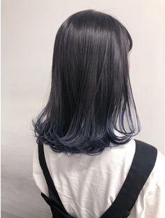 Hair Color Streaks, Ombre Hair Color, Cool Hair Color, Pelo Color Gris, Korean Hair Color, Japanese Hair Color, Dull Hair, Japanese Hairstyle, Love Hair