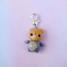 ~*Welcome to The Little Pocket*~  *Bear in Totoro Charm *Charm is on Lobster Clasp, hang it virtually anywhere!  ღCrafted by me with polymer clay  **All items come in cute box or baggie, ready to gift.  READY TO SHIP  Thank you for visiting my shop, The Little Pocket! Your support is a...