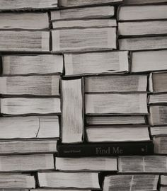 """""""I make patterns with the books I've read."""" """"I can see where your social life is lacking now."""""""