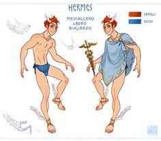 Hermes by Fedini