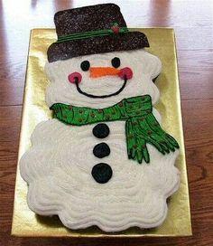 Snowman cupcake cake & DIY Snowman Pull Apart Cupcake Cake Instruction Tutorial -DIY Pull ...