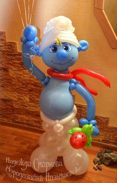 человечек из воздушных шаров - Поиск в Google