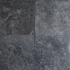 12 x 12 Tile Dark Grey Marble Polished wall floor tile kitchen backsplash bathroom wall floor luxury stone by medusa tile