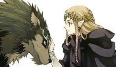 wolf link & zelda~