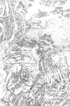 Justice League 23.1 Darkseid page 06 pencil by PauloSiqueira on deviantART