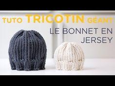 Tuto tricotin : le snood tressé - YouTube