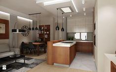 Mieszkanie na wynajem 2 - Średnia otwarta jadalnia w salonie, styl nowoczesny - zdjęcie od All Design Agnieszka Lorenc