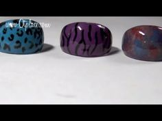 ▶ DIY: how to make jewelry rings with nail polish - YouTube   I think tweens and teen girls would really enjoy making these rings, i.e. at a pajama party.  They could do the rings then do manicures on each other and by then the rings should be dry.  They would be bracelets to match.
