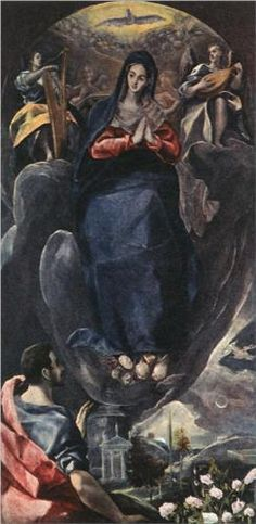 The Virgin of the Immaculate Conception and St. John - El Greco