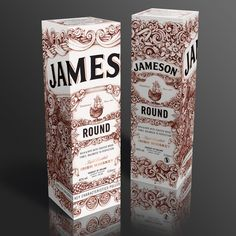 #handdrawn #illustration #typography #jameson  #drink #design #package #illustrate #font #text #typography #detail #colour