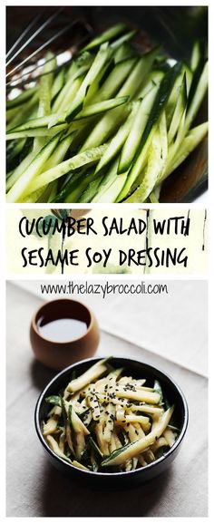 This 3-ingredients vegan cucumber salad is not just refreshing - it is also…
