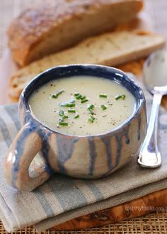 Cauliflower-Soup low calorie, 1 WW point