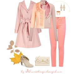 Bundle up - outfit idea for Light Spring by thirtysomethingurbangirl on Polyvore featuring Mode, Whistles, J Brand, Bella Vita, Betsey Johnson, Adami & Martucci, Lauren Ralph Lauren and Halston Heritage