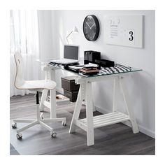 """GLASHOLM / FINNVARD Table - 58 1/4x28 3/4 """" - IKEA"""