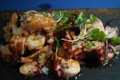 Pulpo al wok Bar cos