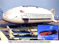 Aeroscraft flying cruise ship
