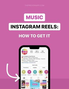 """Don't have the Music feature on Instagram Reels? If the audio option is missing on your account, try these 5 tricks to unlock it. Don't have the Music feature on Instagram Reels? Is the """"Audio"""" option missing from your tools? There are 5 tricks you can use to get Music for your Reel videos. #instagramtips #instagrammarketing #instagrammarketing #socialmediatips Instagram Music, Latest Instagram, Instagram Story, How To Get Music, Music Do, Instagram Feed Planner, Instagram Settings, Instagram Marketing Tips, Facebook Marketing"""