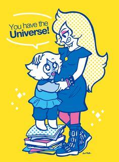 Steven Universe - Amethyst and Vidalia