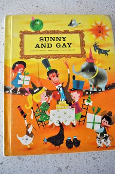 ''Sunny and Gay'' Bobbs Merrill Best of Childrens Literature 1964 Book