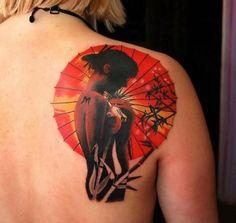 Japanese Geisha Tattoo Ideas | Best Tattoo 2015, designs and ideas for men and women