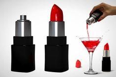 lipstick wine