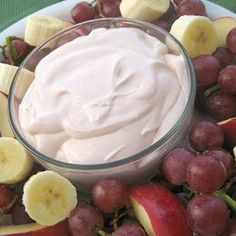 Strawberry Fruit Dip. Seriously some of the best stuff I have ever tasted and so simple to make!