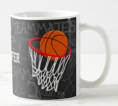Shop Personalized Chalkboard Basketball and Hoop Coffee Mug created by giftsbonanza. Stainless Steel Coffee Mugs, Personalized Coffee Mugs, Funny Coffee Mugs, Coffee Travel, Chalkboard, Glasses, Tableware, Eyewear, Chalk Board