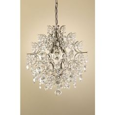 20s inspired 'Gatsby' 2 Tier Chandelier Beaded Ceiling Light ...:Annabella Chandelier - 44.5cm at Homebase -- Be inspired and make your  house a,Lighting