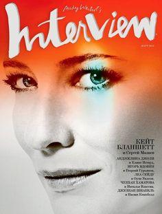Cate Blanchett - Interview Magazine Cover [Russia] (March 2012)