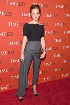 Pin for Later: 10 Power Dressers With Style So Bold, They've Become Our 2016 Fashion Icons Emma Watson