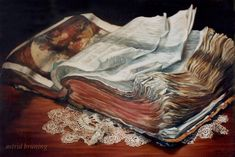 The Book of all Books- OIL PAINTING by AstridBruning.deviantart.com on @deviantART