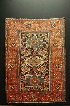 Antique RUG HERIZ heriz handrug ca: 190x136cm tappeto tapis collektorpiece