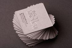 40 Creative Mini Square Business Cards Design Photo