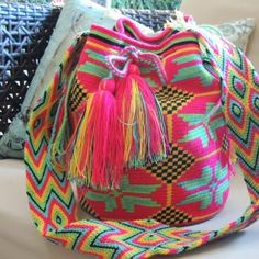 Beautiful handmade bags - mochilas wayuu