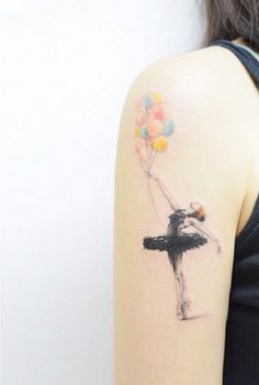 This tattoo reminds me on beauty of living when you live your dream.
