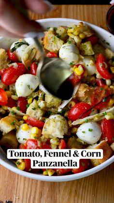 Veggie Recipes, Appetizer Recipes, New Recipes, Salad Recipes, Veggie Appetizers, Dinner Recipes, Cooking Recipes, Favorite Recipes, Healthy Recipes
