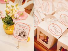 Mad Hatter Tea Party // Hostess with the Mostess®  Alice in wonderland birthday party ideas-- invitation, decoration, cake, cupcakes, dessert table, party favors