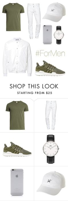 """""""-15-"""" by khlooe ❤ liked on Polyvore featuring Sørensen, Dsquared2, adidas Originals, Daniel Wellington, Native Union, HUF, HL Heddie Lovu, men's fashion and menswear"""