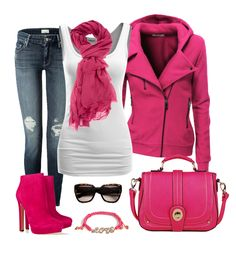 I love this outfit because it has a lot of pink which is my favorite color. It has a lot of accessories that go with it. Discover and share your fashion ideas on misspool.com