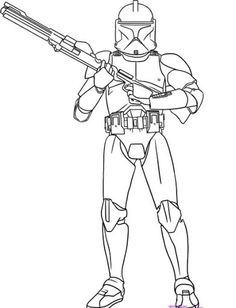 Lego Star Wars Anakin Skywalker Coloring page LineArt Star Wars